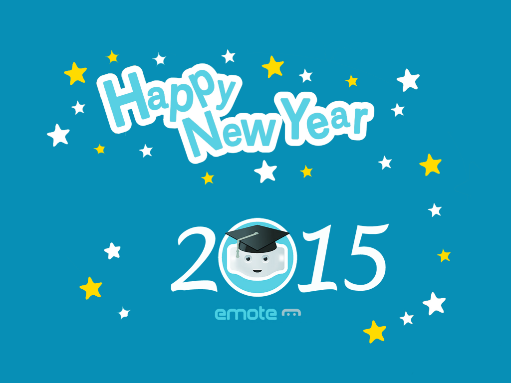 happy new year from emote