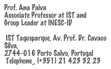 Prof. Ana Paiva